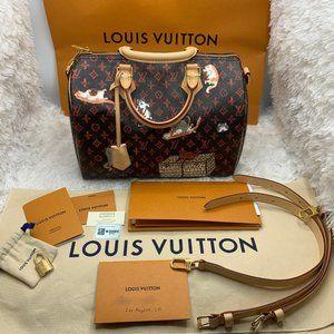Louis Vuitton Catogram Speedy Bandouliere 30 Bag